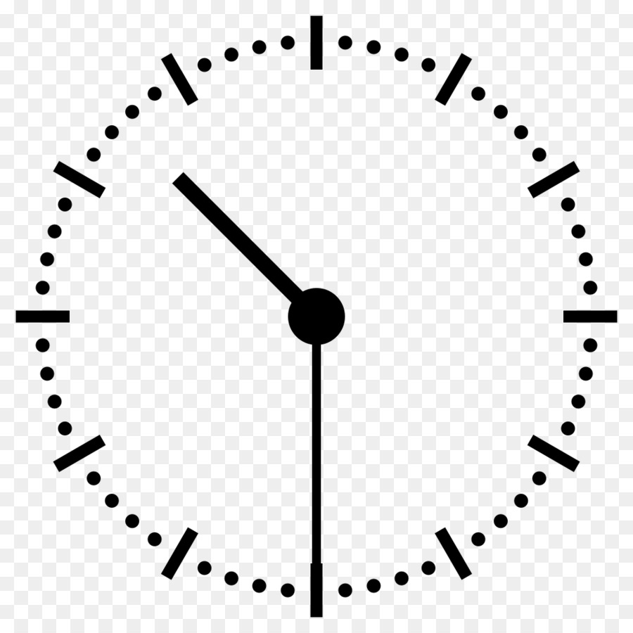Download clock 12 30 png clipart Digital clock Clock face.