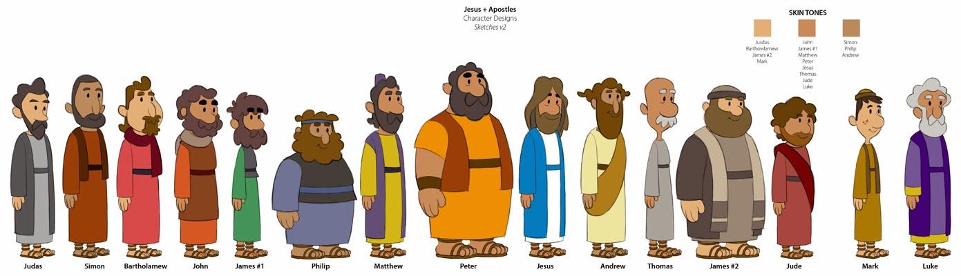 Jesus Disciples Clipart & Free Clip Art Images #12836.