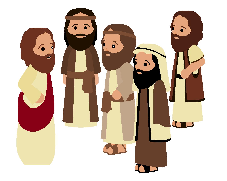 Cliparts Apostles.