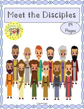 12 Disciples Of Jesus Worksheets & Teaching Resources.