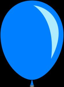 New Blue Balloon Clip Art at Clker.com.