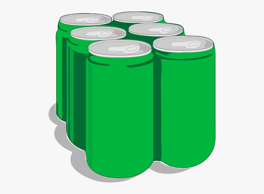Beverage Cans Clip Art.