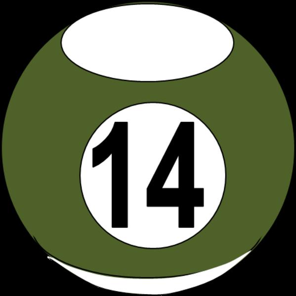 Billiard Ball 12.