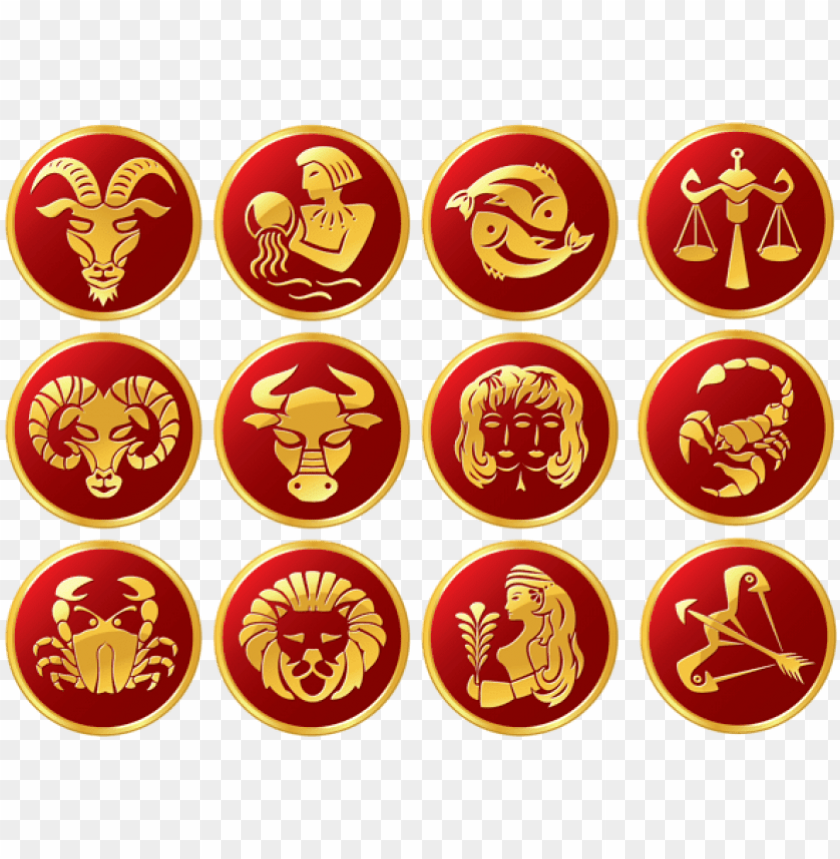 free png download zodiac signs set clipart png photo.