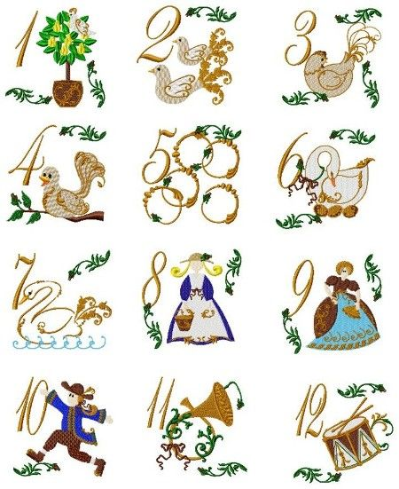 12 Days Of Christmas Clipart 14.