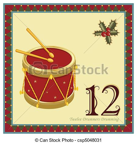 Twelve days christmas Clip Art Vector and Illustration. 294 Twelve.