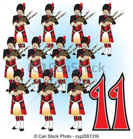 12 days of christmas pictures clip art #13