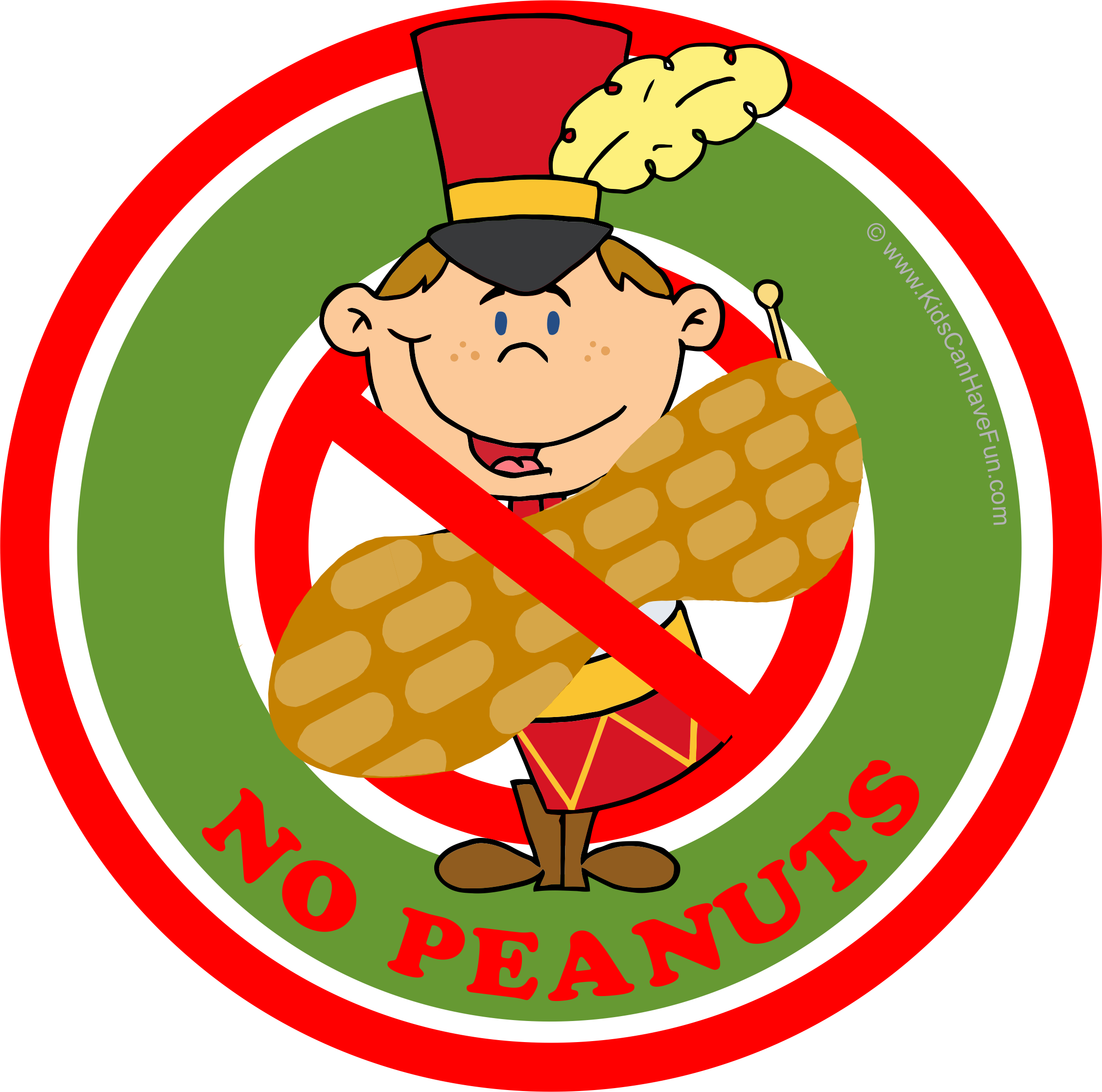 Christmas Drummer Boy No Peanuts Label Nut Free, Dairy.
