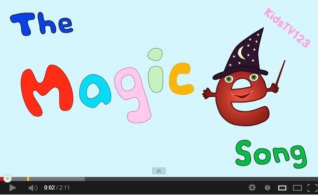 Magic E Clipart.