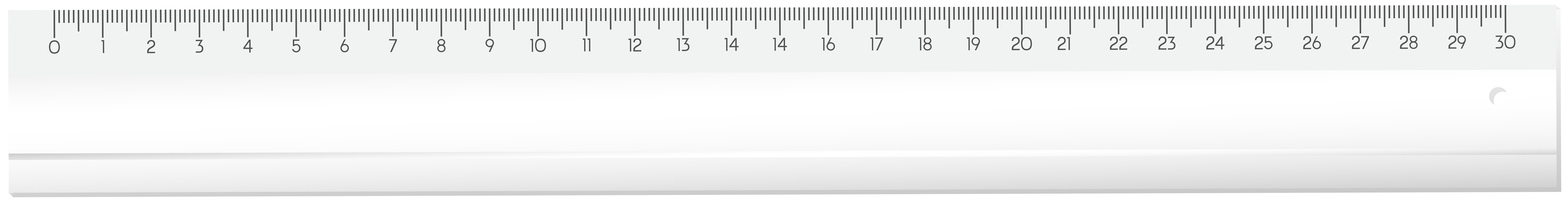 12 Inch Ruler Clipart.