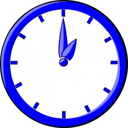 12 O Clock Clipart Picture Free Download.
