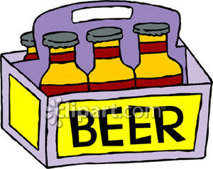 12 Pack Beer Clipart.