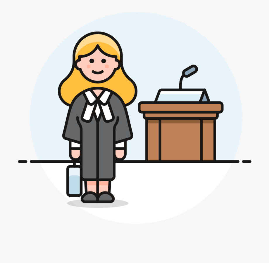 Jury Clipart Legal Issue.