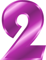 Number 2 PNG Free Download 12.