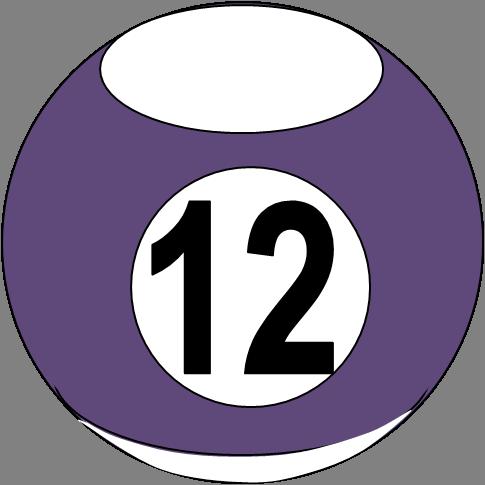 Billiard Ball 10.