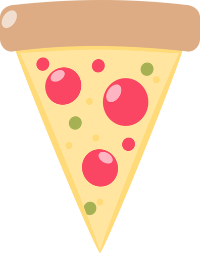 Pizza slice image.