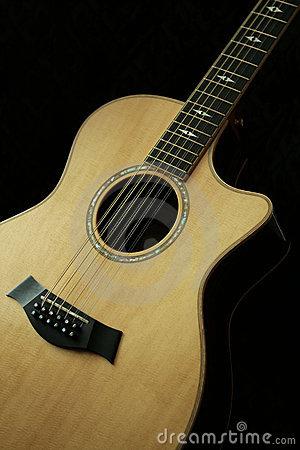 12 String Guitar Stock Photos.