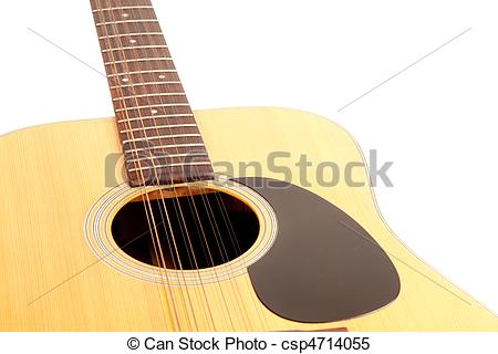 Stock Images of 12 string guitar csp4714055.