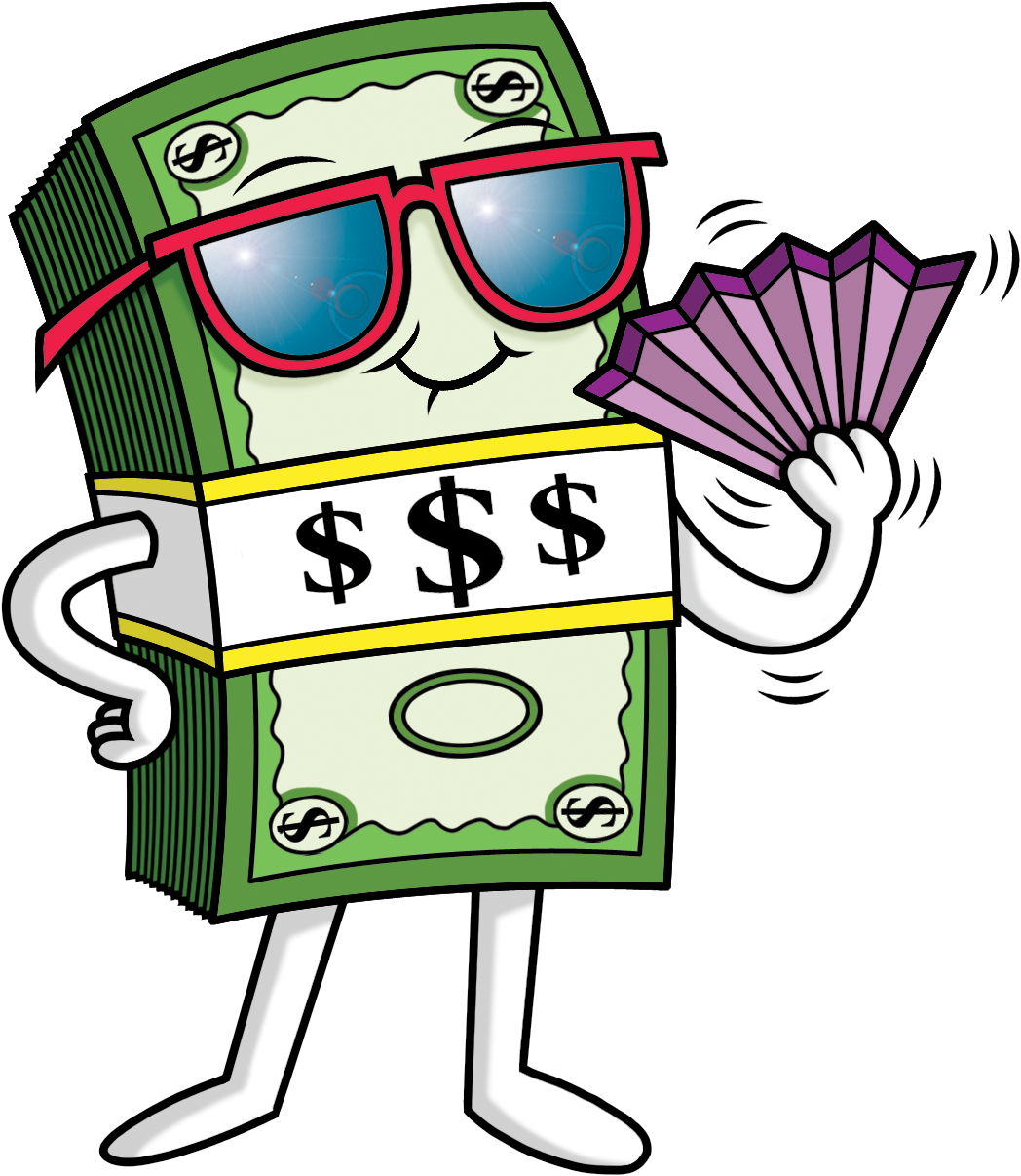 Clip art Dollar Illustration Cartoon Glasses.