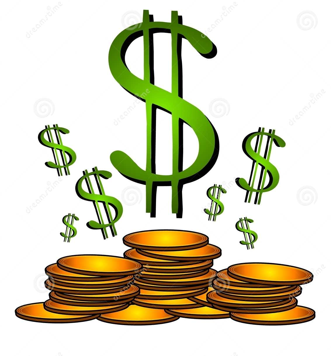 Clip Art Money Book.