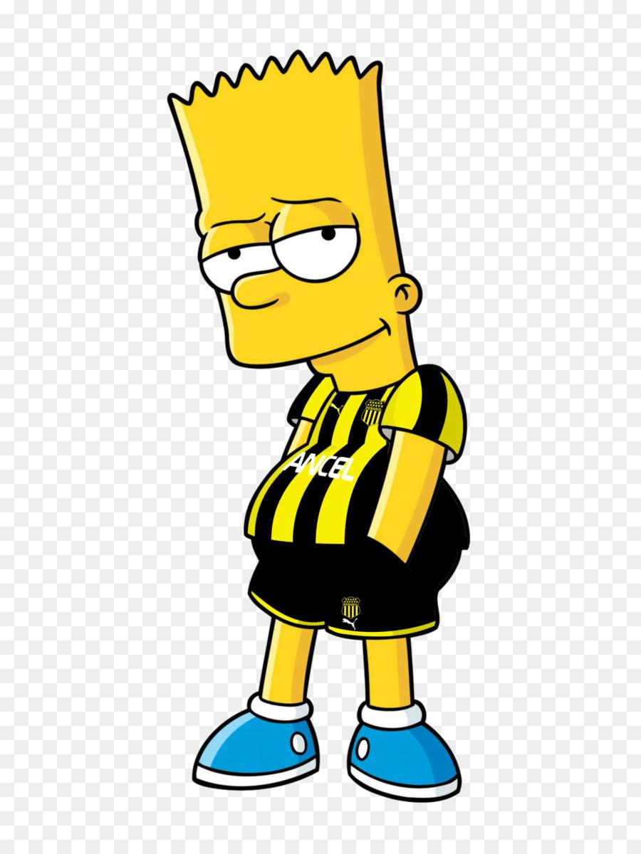 Bart Simpson Homer Simpson Character Clip art.