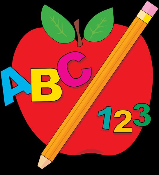 ABC 123 Cliparts.