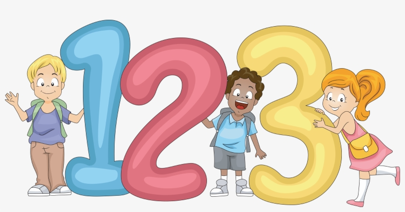 Number Clipart For Kid Png.