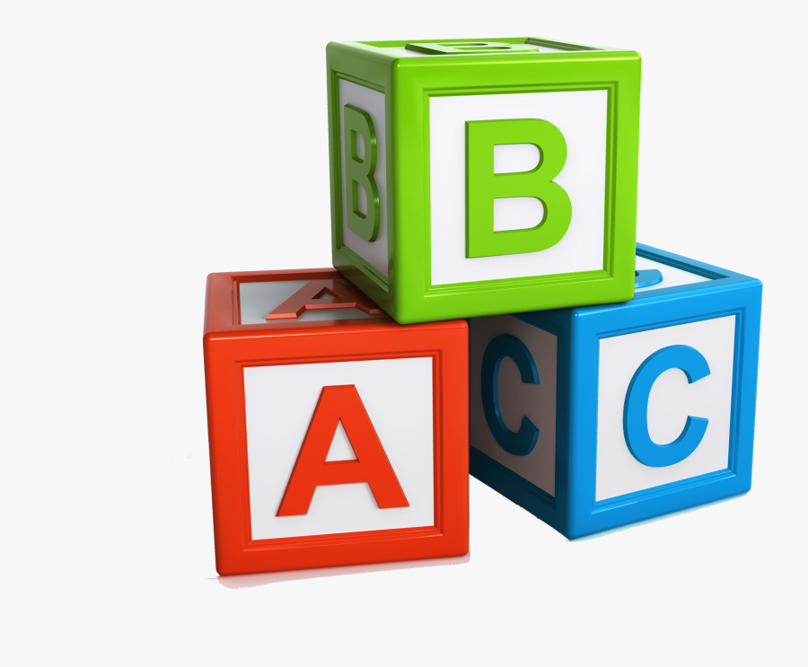 Abc Blocks Transparent Background , Free Transparent Clipart.