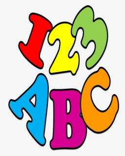 Free Abc 123 Clip Art with No Background.
