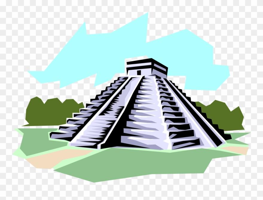 Pyramid Clipart Mayan Temple.