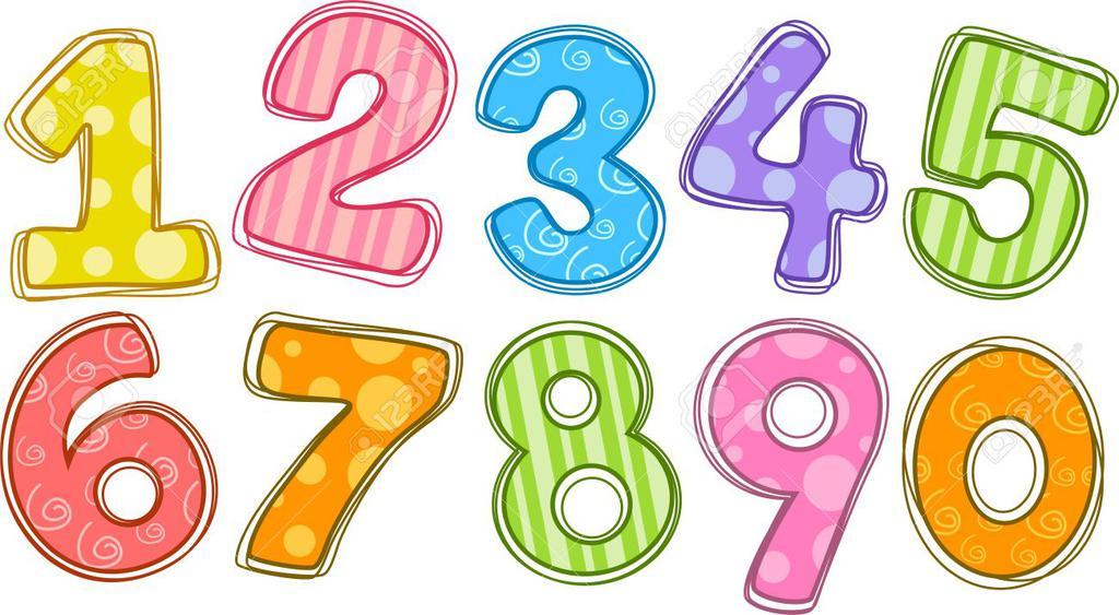 Clipart numbers printable, Clipart numbers printable.