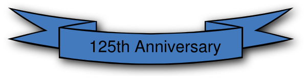 125th Anniversary Clip Art at Clker.com.