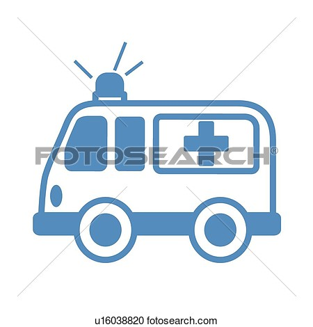 Ambulance Clipart #125.