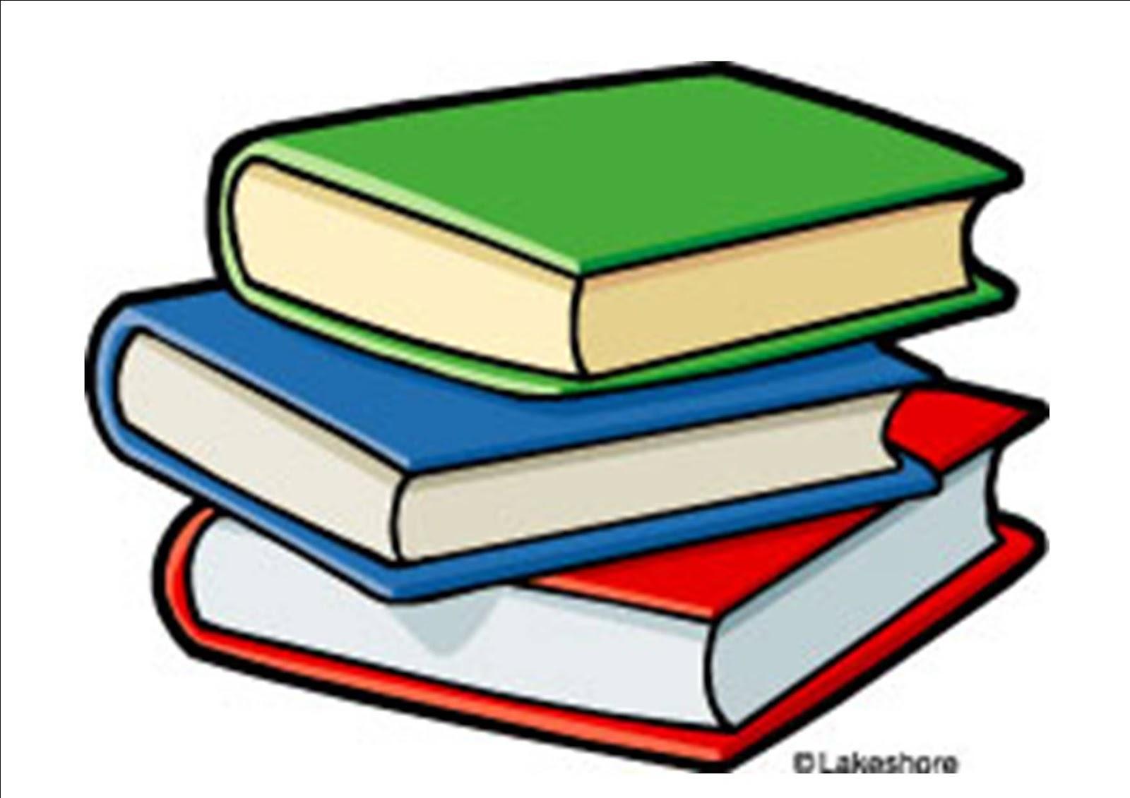 Teacher Books Clipart #125.