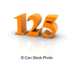 Number 125 Illustrations and Clipart. 10 Number 125 royalty free.