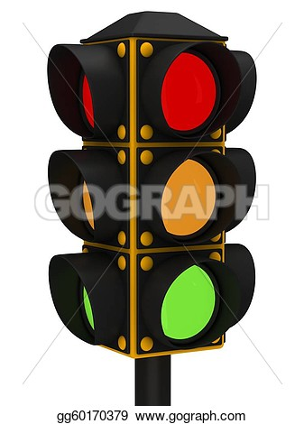 Stoplight Clipart #125.