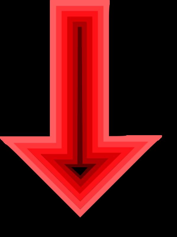 Image of Down Arrow Clipart #12548, Down Arrow Clipart.