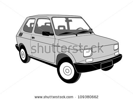 Fiat 126 Stock Photos, Royalty.
