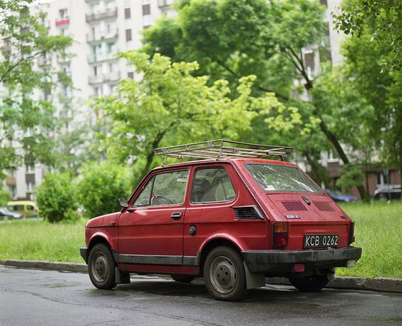 A Polish classic, the PF 126p (Polski Fiat 126p). It was produced.