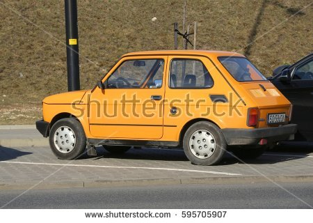 Fiat 126 Stock Images, Royalty.