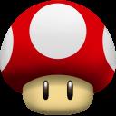 Mushroom Super Icon.
