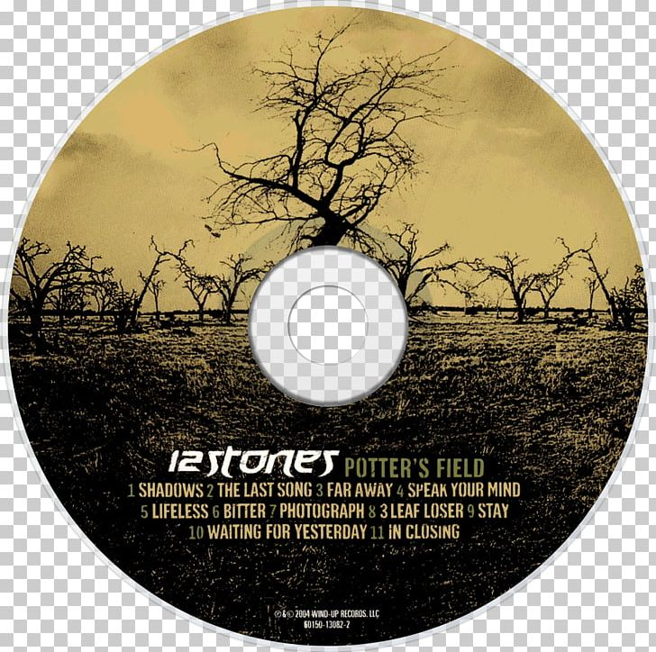 Potter\'s Field 12 Stones Compact Disc Guitar PNG, Clipart.