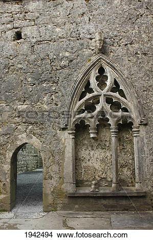 Stock Photo of Exterior Of 12Th Century Kilfenora Cathedral.