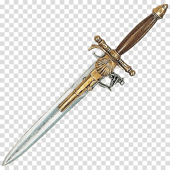 Middle Ages 18th century Knife 14th century Dagger, knife.