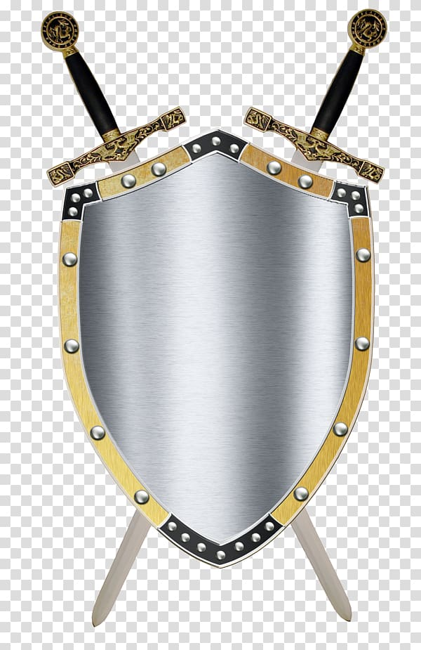 Knight Shield transparent background PNG cliparts free.