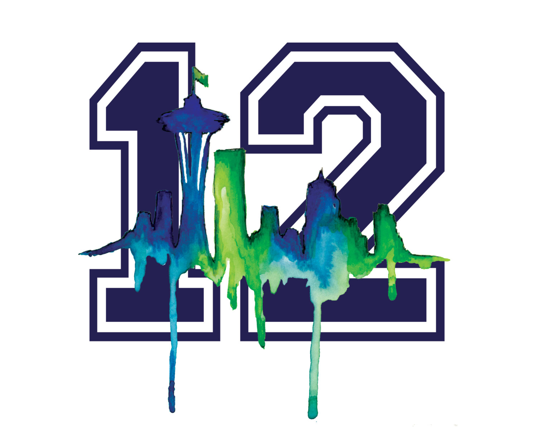 Seattle Seahawks 12th Man Logo N7 free image.