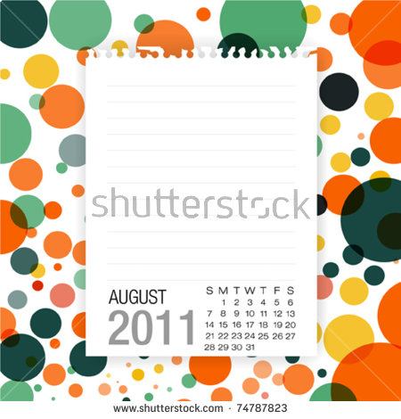 August 2011 Stock Images, Royalty.