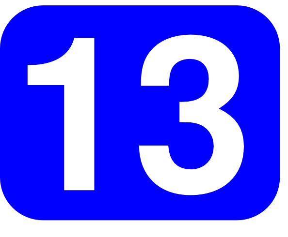 Blue Rounded Rectangle With Number 13 Clip Art at Clker.com.