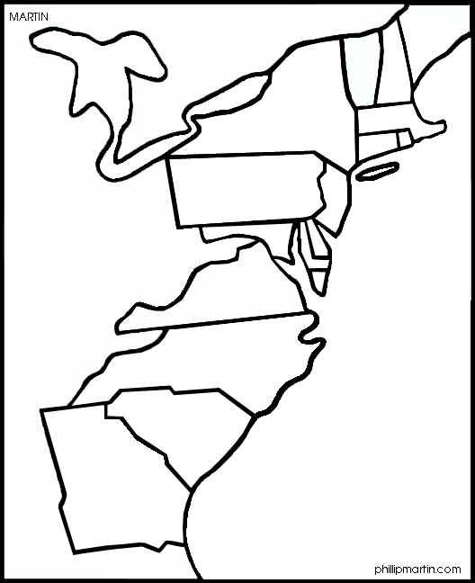 Picture of the thirteen colonies free download clip art free 13.