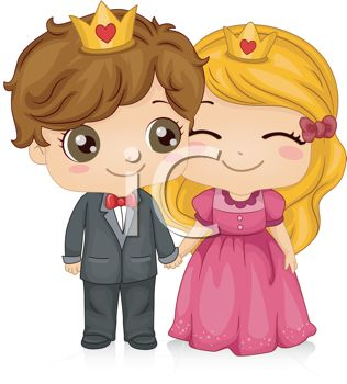 Prince and princess clipart 13 » Clipart Station.